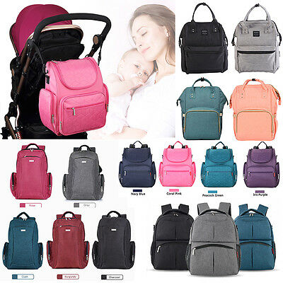 Mummy Backpack Multifunctional Baby Diaper Bag Nappy Changing Bag Large Capacity