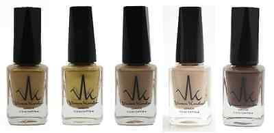 Water Permeable Vegan Nail Polishes - Gold's Collection-free surprise polish