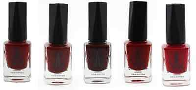 Water Permeable Vegan Nail Polishes - Red Collection -free surprise polish