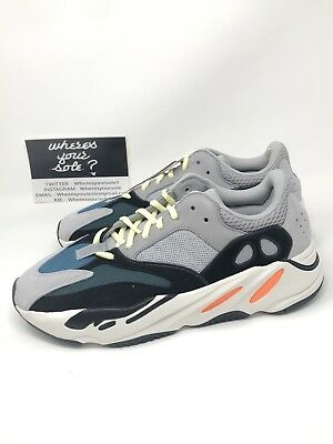 600e7c1b49b33 Adidas Yeezy Boost 700 Wave Runner size 10.5 New DS Solid Grey B75571