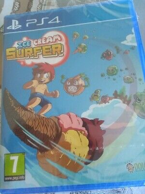 New - Ice Cream Surfer - Ps4 - Playable In English