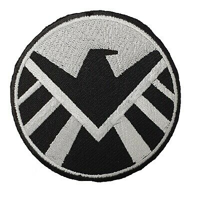 Marvel Avengers Shield Patch Embroidered Cloth Applique Badge Iron/ Sew-On