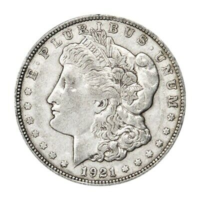 1921 Morgan Dollar VG+ Silver Coin