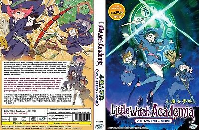 Little Witch Academia die Komplett Anime Serie DVD Englisch Audio Region Alle