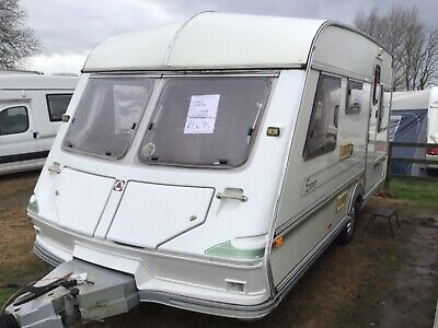 Ace jubilee envoy 1998 4 berth seating both ends with awning caravan