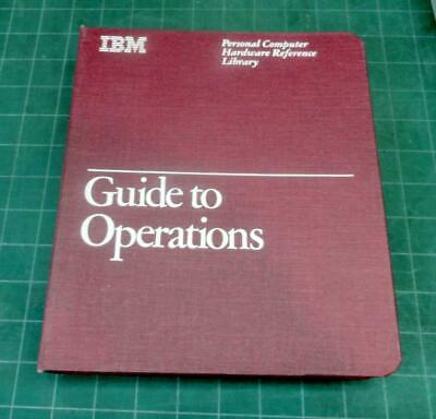 VINTAGE - IBM PC Guide to Operations with DOS and Diagnostic disks - 1st Edition
