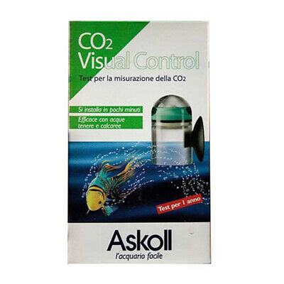 Askoll CO2 Visual Control Test per Misurazione Anidride Carbonica in Acquario