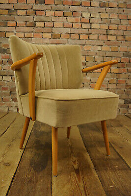 Rockabilly Cocktail Sessel Vintage Mid-Century Easy Chair Armchair 50er 1/3