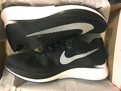 release date 1ecd9 87df2 New Nike Zoom Fly Black White Anthracite Running Shoes 880848-001 Men Size 8