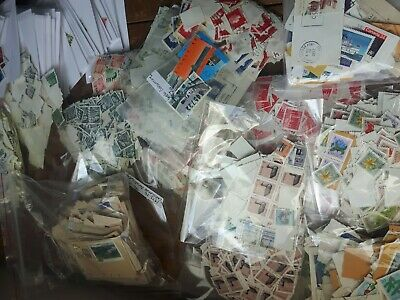 Huge Lot 5000+ Used Canada Stamps