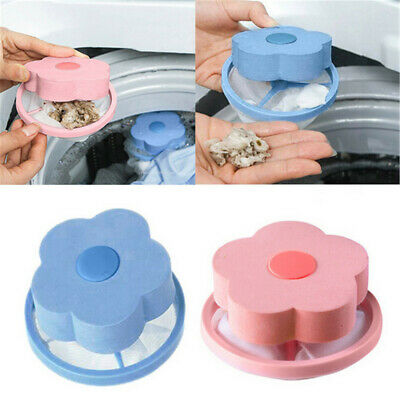 1pc Laundry Lint and Pet Hair Remover Floating Pet Fur Catcher PE+EVA+Polyester