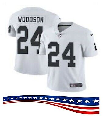 Cheap 24 OAKLAND RAIDERS Charles Woodson Limited Men's White Nike Jersey