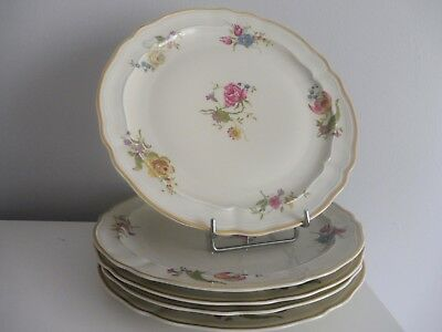 Lot de 5 Assiettes plates en Porcelaine de Limoges Bernardaud