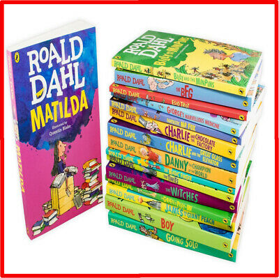 Roald Dahl Latest Collection 16 Book Box Set Brand New Edition Paperback Age 7+