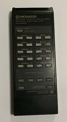Remote Control Unit CU-GR001 for Pioneer Graphic Equalizer GR-777 ( M )