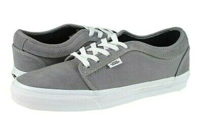 7799322b74 Vans CHUKKA LOW Grey White Suede Skateboarding Discounted (198) Men s Shoes