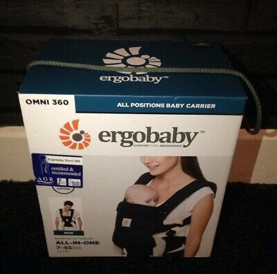 Ergobaby Omni 360 All Positions Baby Carrier - Colour Pure Black
