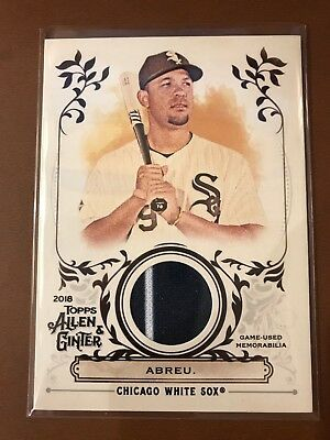 NM-MT 2017 Topps Allen and Ginter Relics #FSRAVM Victor Martinez A Jersey