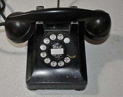 Vintage Western Electric 302 Telephone With 5H Dial, dated 1941 ~ Metal Housing