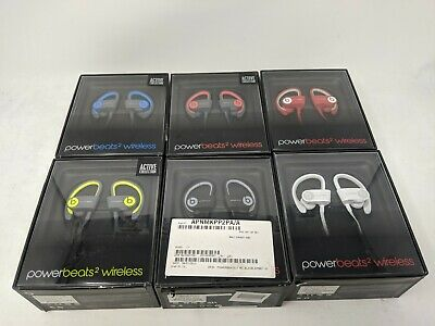 Beats By Dre - Power Beats 2 Wireless - In Ear Headphones - Various Colors - New