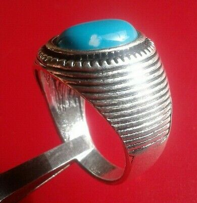 EXTREMELY rare Ancient VIKING SILVER RING museum quality ARTIFACT lovely