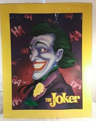 "THE JOKER Poster 1989 TM & DC COMICS, 29""×24"" SP Publishing 28-600 Vintage"