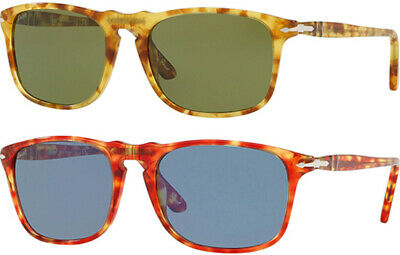 1213900227 Persol Men s Handcrafted Tortoise Sunglasses w  Tempered Glass Lens -  PO3059S