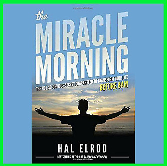 The Miracle Morning by Hal Elrod (E-B0oK)⚡Fast Delivery(10s)⚡
