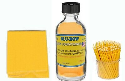 BLU-BOW COIN CONDITIONER +100 Micro brushe+ microfibre cloth (br405+ps200+us177)