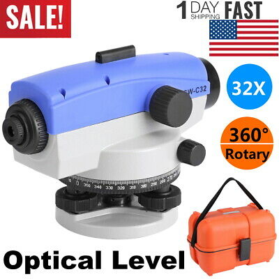 High Precision 32x Automatic Optical Level Transit Survey Autolevel With Case