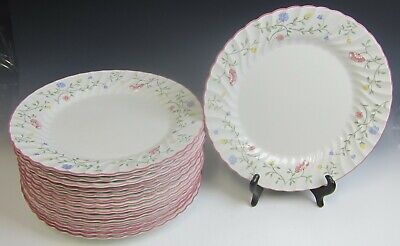 Lot of 15 Johnson Brothers China SUMMER CHINTZ ENGLAND Dinner Plates VERY GOOD