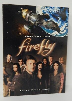 Firefly - The Complete Series (2003, 4 DVD set) Region 1