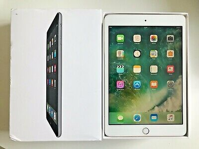 Grade A Apple iPad mini 3 16GB, Wi-Fi, 7.9in - White, Finger Touch ID.