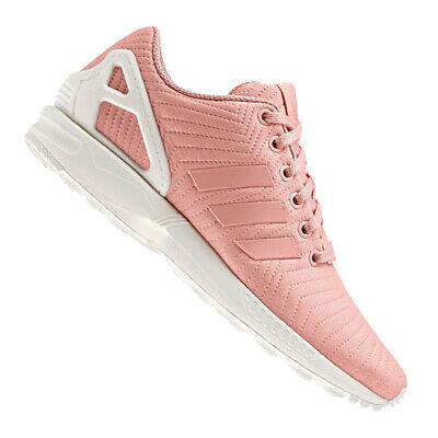 reputable site ea6b7 daef9 Adidas Originals Zx Flux Scarpe da Tennis da Donna Rosa Di