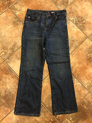 The Childrens Place Boys Dark Wash Jeans Size 10 Husky