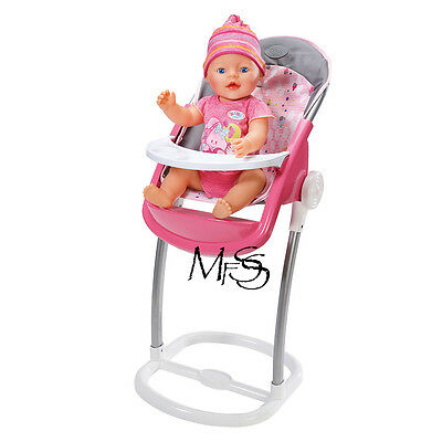 ZAPF CREATIONS Baby Born High Chair  *  Brand New  *  Baby Born Hi Chair
