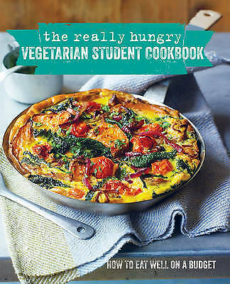 The Really Hungry Vegetarian Student Cookbook, Ryland Peters & Small, New Book