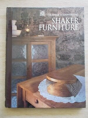Time Life Books~The Art of Woodworking~Shaker Furniture~144pp Spiral Bound H/B