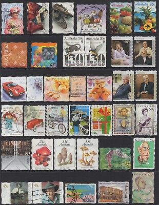AUSTRALIA No.41 DECIMAL COLLECTION OF (35) STAMPS VFU