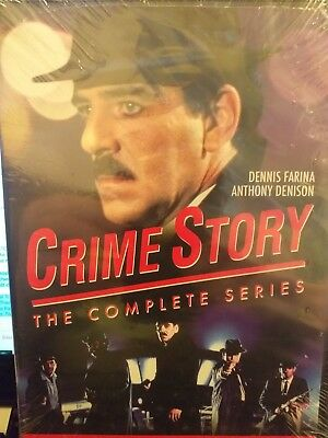 Crime story  -complete series -region 1