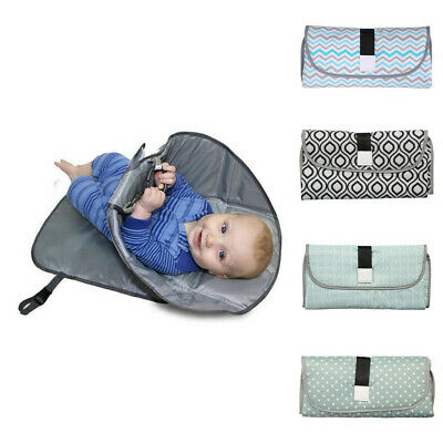 Newborns Foldable Waterproof Infant Diaper Changing Mat Portable Changing Pad