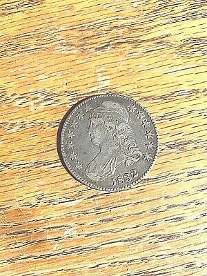 1832 Capped Bust Half Dollar, Extremely Fine XF. Very Original NEVER CLEANED