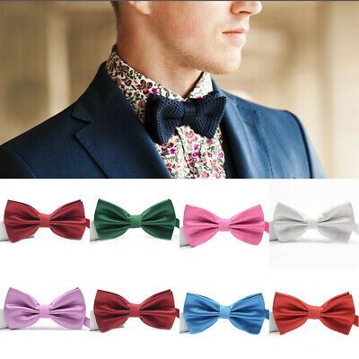 Men Classic Wedding Formal Bowtie Necktie Bow Tie Tied Tuxedo Fashion Adjustable