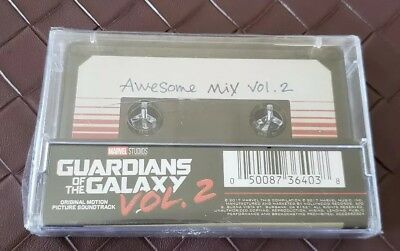 NEW Guardians Of The Galaxy: Awesome Mix Vol. 2 Movie Soundtrack Sealed Marvel