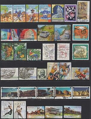 AUSTRALIA No.34 DECIMAL COLLECTION OF (34) STAMPS VFU