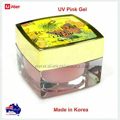 20ml Authentic Nail Builder PINK UV Gel High Quality Nail Gel Made in Korea