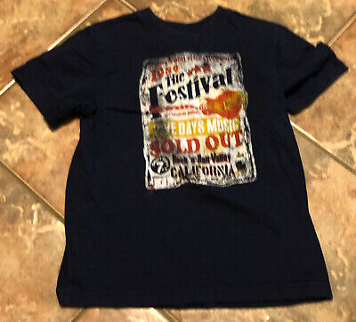 Boys The Childrens Place Shirt, Size 5/6, Navy Blue, Short Sleeve