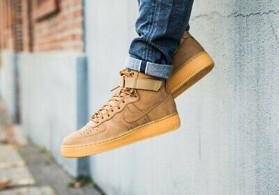 new style 360ba 92d7a Nike Air Force 1 High  07 Lv8 Wb sz11.5 882096 200 wheat retro