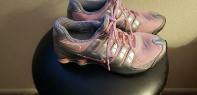 size 40 adbd9 12af6 Rare NIKE SHOX WOMEN S SIZE US 9 - great condition pink silver
