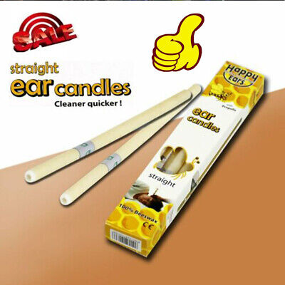 2/4Pcs Hopi Ear Candling Candel Natural Beeswax Excellent Quality Wax Candles DM